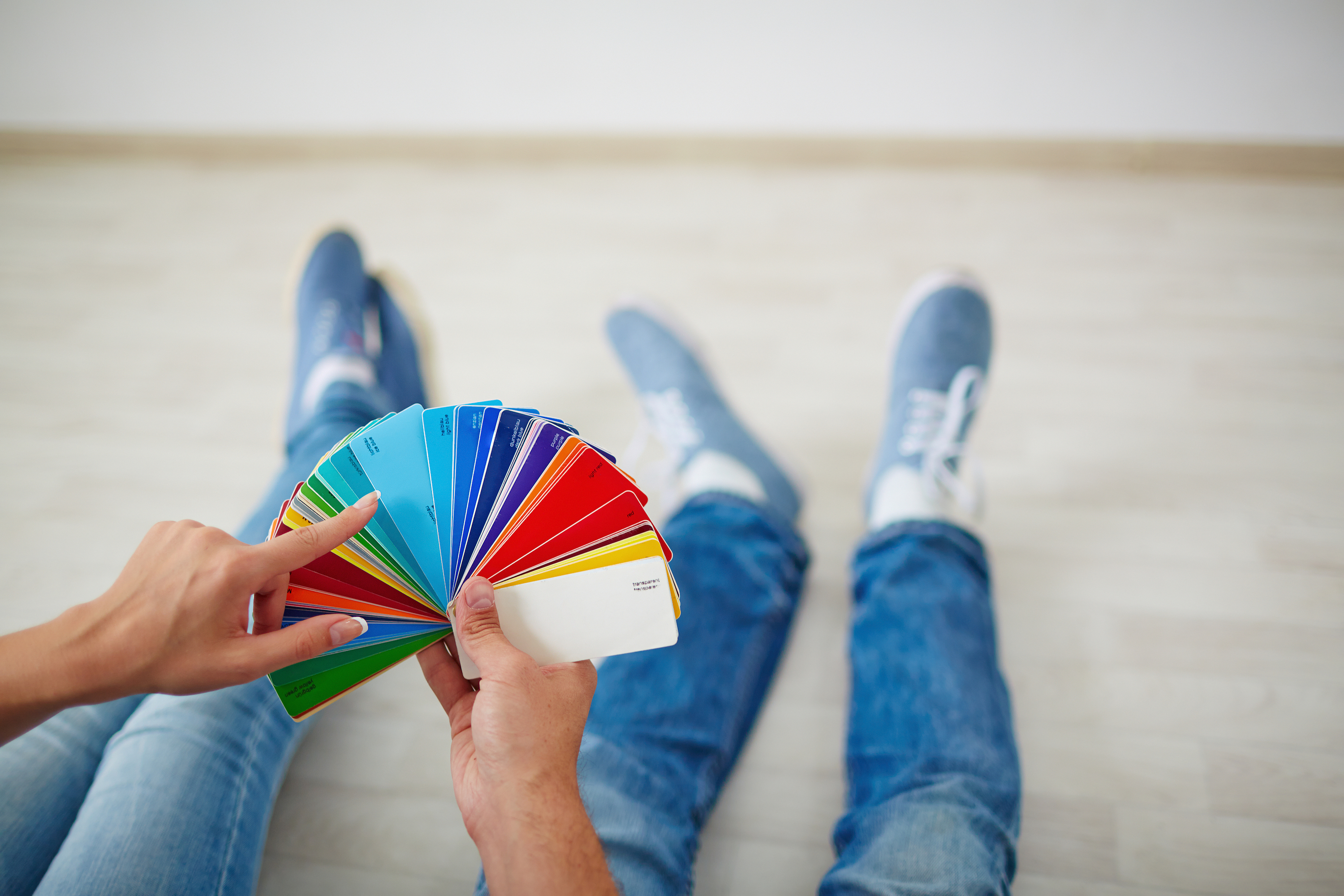 Painting interior to sell home
